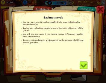 Saving Swords