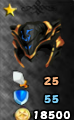 Master Helm of the Heavens Arena Icon