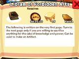Libram of Forbidden Arts