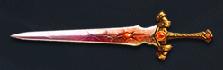 Demon Stone Infused Blade Display