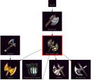 Steel battle-axe