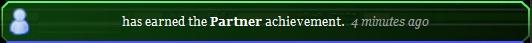Partner achievement