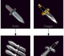 Wounding knives
