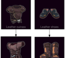 Cow leather armor