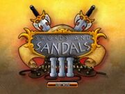 Swords sandals 3 multiplae ultratus