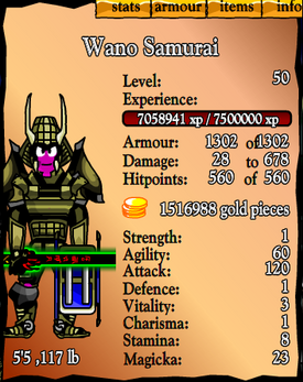 Wano Samurai