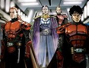 Roan Fel und seine Ritter