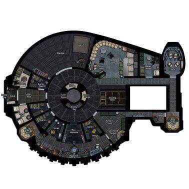 YT-2400 deckplan