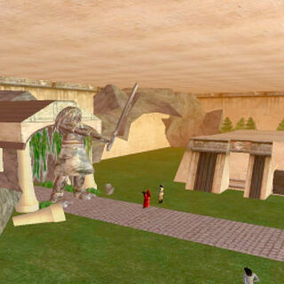 The KOTOR training grounds