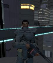 P.G.A.F. Recruit Za'rick Adar