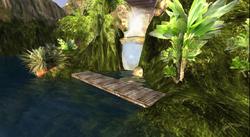 Zonama Sekot's below the waterfall bridge