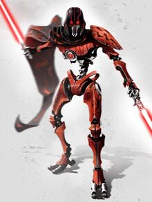 IG-110 Lightsaber Droid