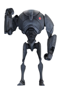 B2-Series Super Battle Droid Commander