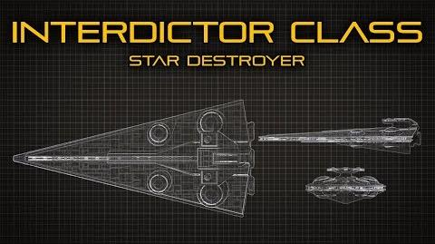 Star Wars- Interdictor Class Star Destroyer - Ship Breakdown