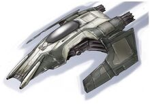 Cutlass-9 Patrol Fighter