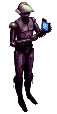 M-3PO-Series Military Protocol Droid