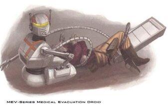 MEV-Series Medical Evacuation Droid
