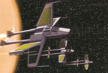 X-83 TwinTail Starfighter
