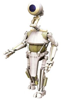 PK-Series Worker Droid