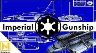 Lambda Shuttle Goes GUNSHIP - Imperial Ye-4 gunship - Star Wars Ships