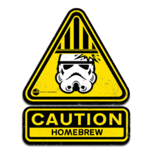 Homebrew Warning