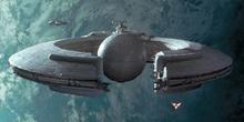 Lucrehulk-Class Cargo Hauler