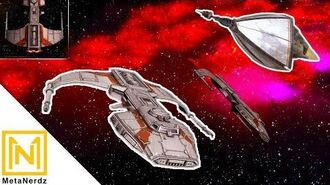 Diamond Covered Missiles - Marauder-class Corvette - Star Wars Ships & Vehicles