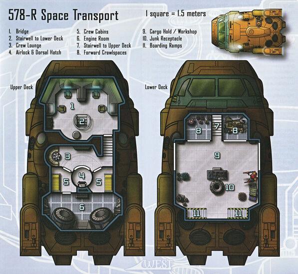 Amalgamated Hyperdyne 578-R Space Transport 2