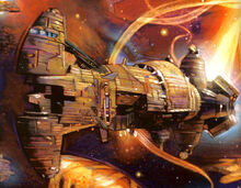 Rendili Hyperworks Praetorian-Class Frigate