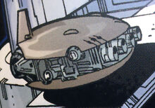 Crix-Class Armored Shuttle
