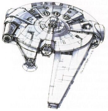 Corellian YV-545 Light Freighter