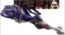 22-B Nightfalcon Speeder Bike
