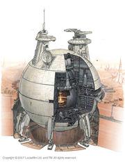 Lucrehulk-Class Core Ship