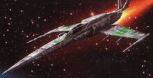 Republic Fleet Systems Star Saber XC-01 Starfighter