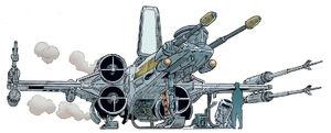 T-65BR X-Wing Starfighter