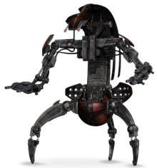 Droideka Series Destroyer Droid