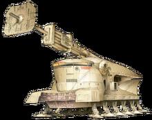 Self-Propelled Heavy Artillery