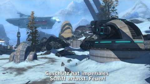 Star Wars The Old Republic - Kriegsgebiete Trailer