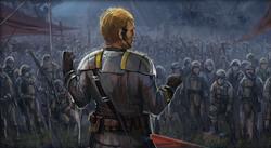 Odile Vaiken sticht het niet-Force gevoelige leger
