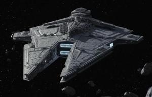 Een Sith Battlecruiser