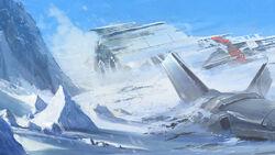 Wrakstukken op Hoth