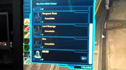 PAX 2012 SWTOR Companion glitch?