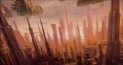 Aanval op Coruscant