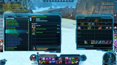 ★SWTOR - Crew Skills Gameplay Guide - Synthweaving - Making Credits - Tips and Tricks 3