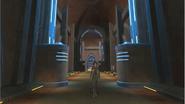 Jedi-Akademie-Korridor