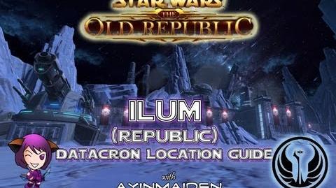 ★ SWTOR ★ - Datacron Location Guide - Ilum (Republic)