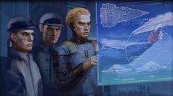Odile Vaiken helpt met het ontwerp voor een Sith Battlecruiser