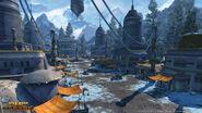 Een dorp op Alderaan