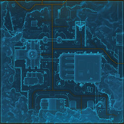 Fort Garnik map