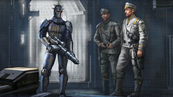 Mandalore the Lesser met Imperial Agents